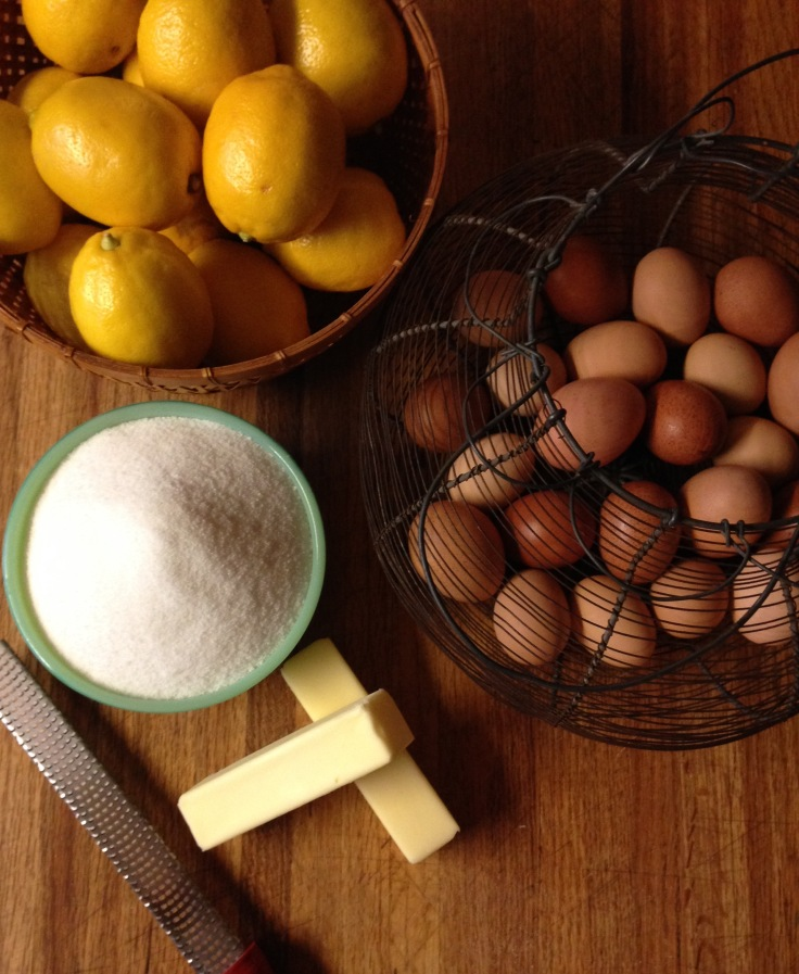 eggs and lemons