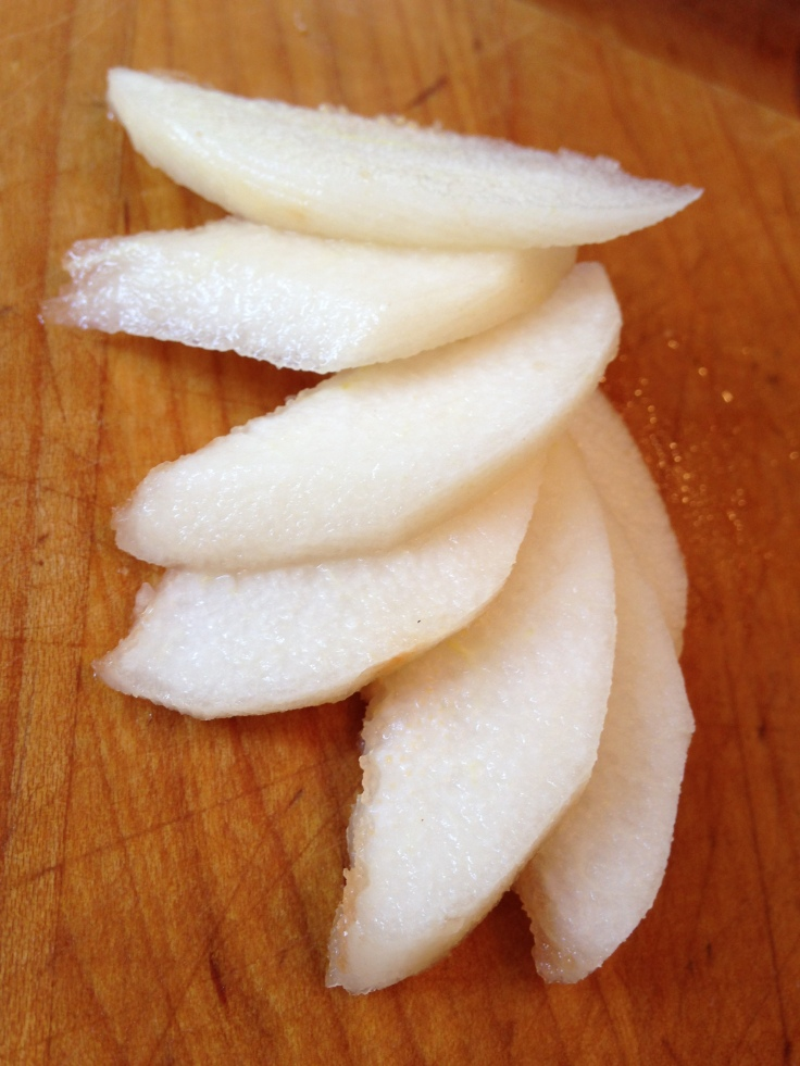 pear slives for preserves