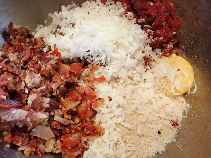 venison bacon meatball ingredients