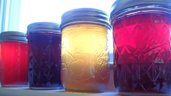 Home canning jelly